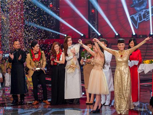 Hương Tràm đăng quang quán quân The Voice - 11