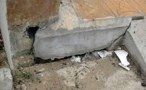 Sụt lún nguy hiểm trên cầu Cái Răng - 9