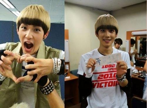 13 idol Hàn có mái tóc nhuộm cực chất - 5