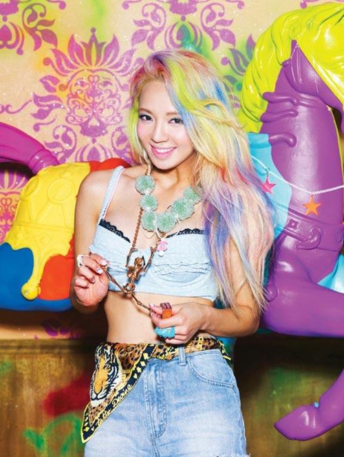 13 idol Hàn có mái tóc nhuộm cực chất - 8