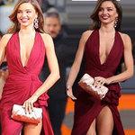 Thời trang - Miranda Kerr hở nghẹt thở trên thảm đỏ