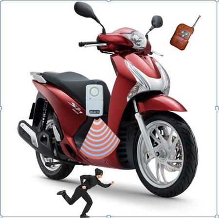Đổ xô mua chống trộm xe máy GB-668 - 2