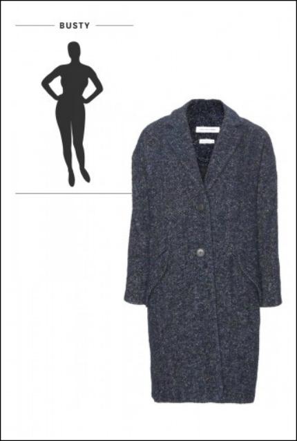 Chọn áo khoác dài cho từng vóc dáng - 4