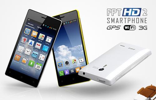 FPT HD II – Điện thoại thông minh với camera 8MP - 1