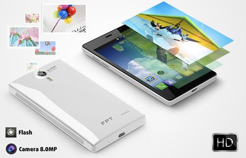 FPT HD II – Điện thoại thông minh với camera 8MP - 2