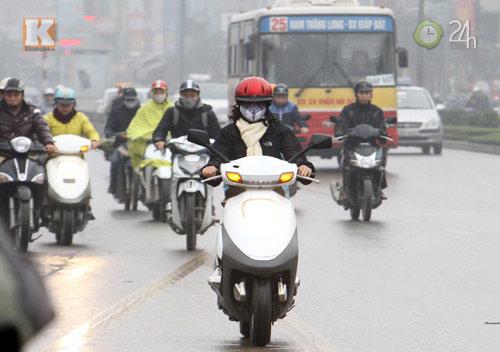 Hà Nội: Sương mù bao trùm thành phố - 4