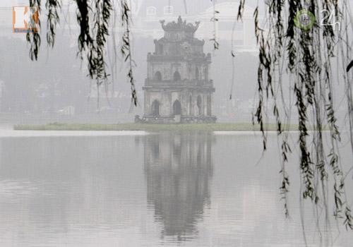 Hà Nội: Sương mù bao trùm thành phố - 11