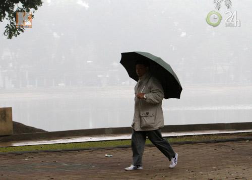 Hà Nội: Sương mù bao trùm thành phố - 7