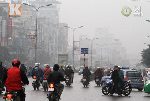 Hà Nội: Sương mù bao trùm thành phố - 2