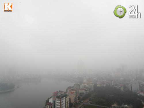 Hà Nội: Sương mù bao trùm thành phố - 1