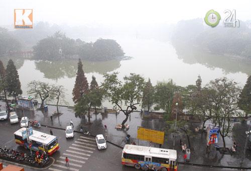 Hà Nội: Sương mù bao trùm thành phố - 8
