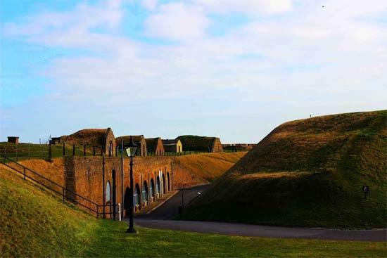 Lâu đài đẹp như mơ ở nước Anh