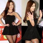 Thời trang - Toát mồ hôi với váy ngắn của sao Hàn