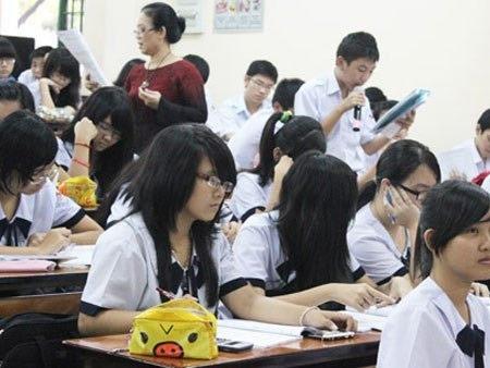 Dạy học bằng tiếng Anh: Trường than khó - 1