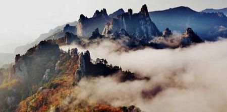 7 ngọn núi kỳ vĩ của Hàn Quốc - 1