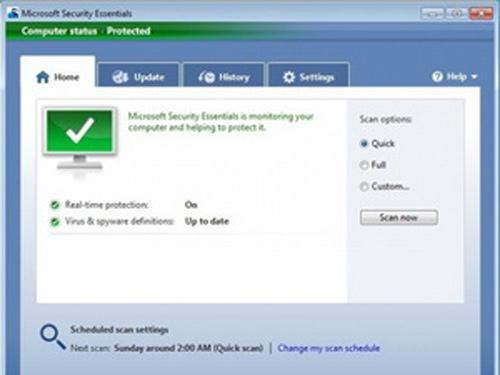 Phần mềm Security Essentials của Microsoft có tốt? - 1