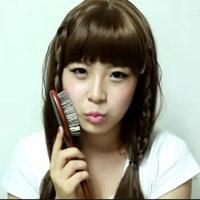 Tết tóc đẹp và điệu như sao Hàn