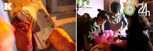 Trắng đêm trao quà cho người vô gia cư - 3