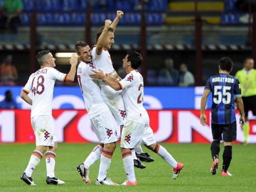 Roma – Inter: Hiểm nguy rình rập - 2