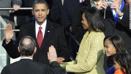 Lịch sử lễ nhậm chức tổng thống Mỹ qua ảnh - 1