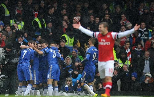 Chelsea - Arsenal: Đòn kết liễu - 1