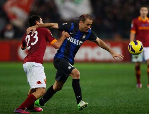 Roma - Inter: Bất phân thắng bại - 1