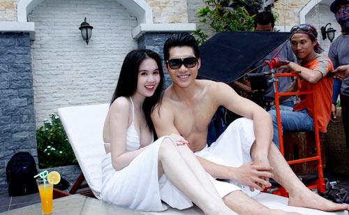 """Ngọc Trinh """"đốt nóng"""" phim Tết 2013 - 14"""