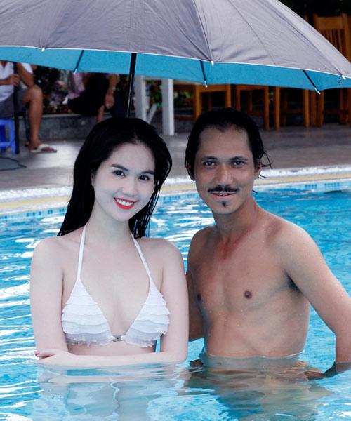 """Ngọc Trinh """"đốt nóng"""" phim Tết 2013 - 9"""