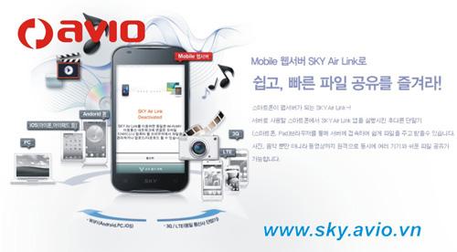 """""""Choáng"""" với điện thoại Sky của Avio Vinaphone - 5"""