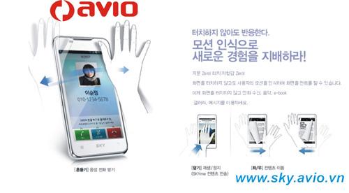 """""""Choáng"""" với điện thoại Sky của Avio Vinaphone - 6"""