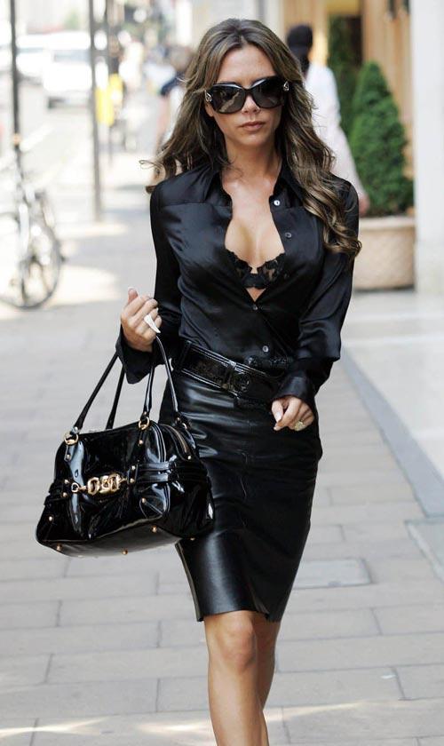 Học để mặc đẹp như Victoria Beckham - 1