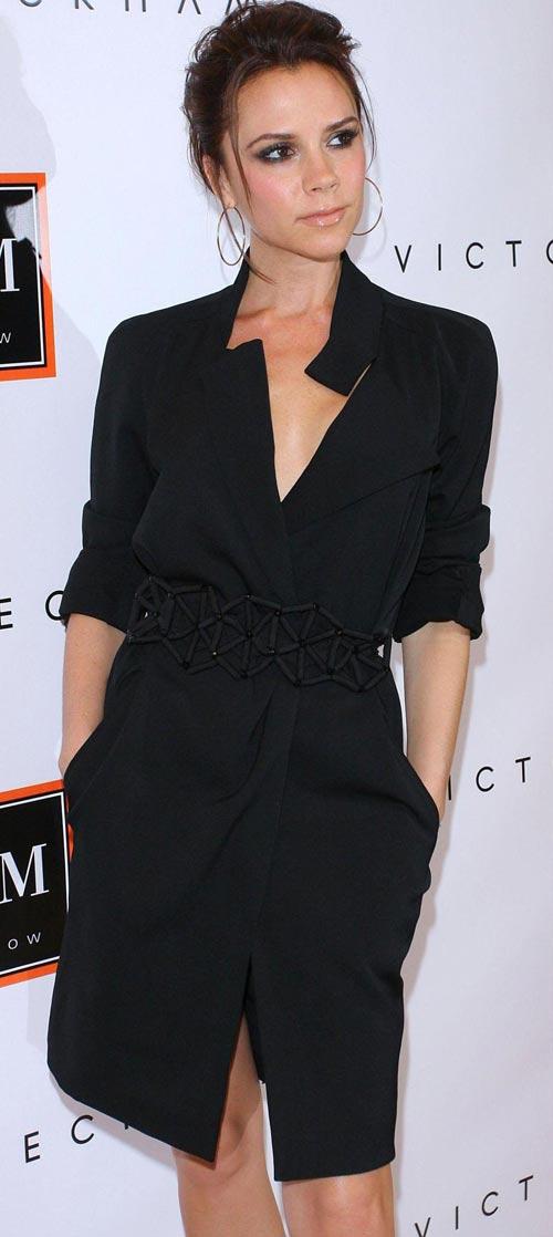 Học để mặc đẹp như Victoria Beckham - 4