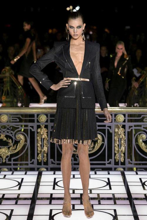 Paris Haute Couture: Versace hở bạo liệt - 5