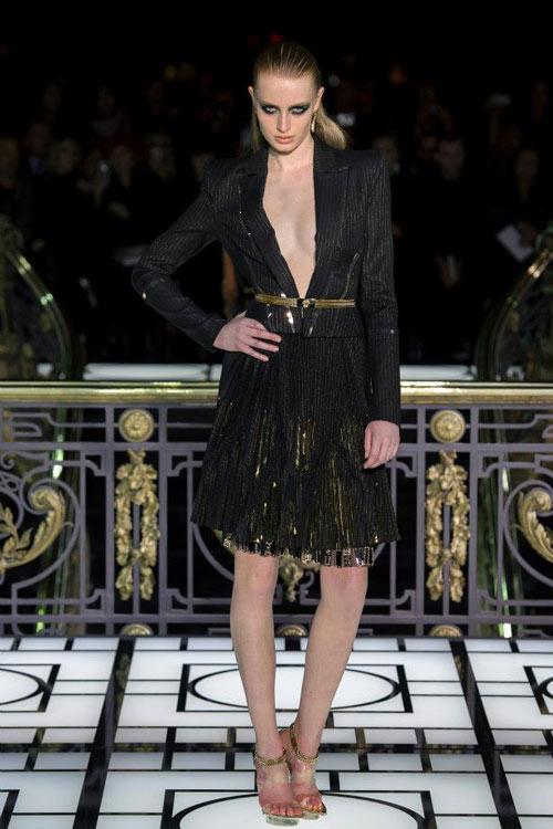 Paris Haute Couture: Versace hở bạo liệt - 7