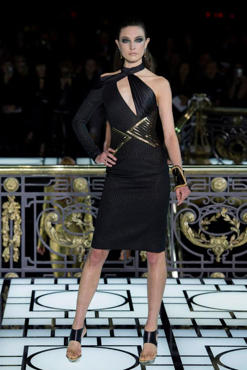 Paris Haute Couture: Versace hở bạo liệt - 9