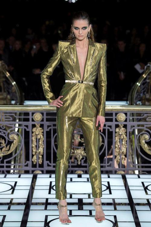 Paris Haute Couture: Versace hở bạo liệt - 10