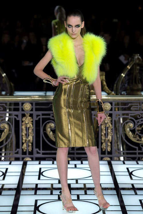 Paris Haute Couture: Versace hở bạo liệt - 11