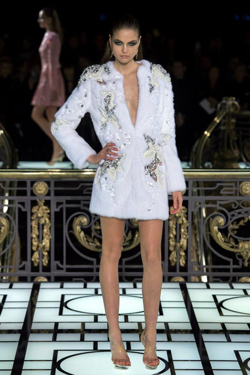 Paris Haute Couture: Versace hở bạo liệt - 12