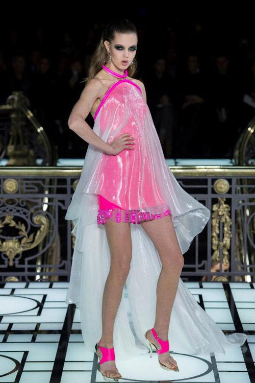 Paris Haute Couture: Versace hở bạo liệt - 19