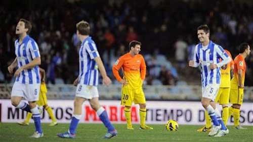 Liga sau V20: Barca và cú ngã cần thiết - 1