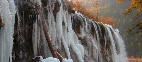 Thác nước đóng băng tuyệt đẹp ở Trung Quốc - 6
