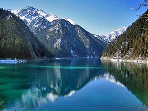 Thác nước đóng băng tuyệt đẹp ở Trung Quốc - 11
