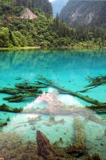 Thác nước đóng băng tuyệt đẹp ở Trung Quốc - 12