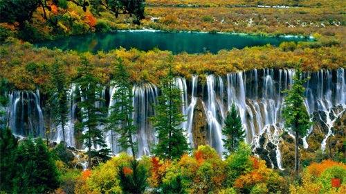 Thác nước đóng băng tuyệt đẹp ở Trung Quốc - 8