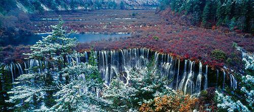 Thác nước đóng băng tuyệt đẹp ở Trung Quốc - 9
