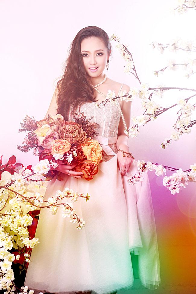 Ngọc Trang sở hữu nhan sắc xinh đẹp