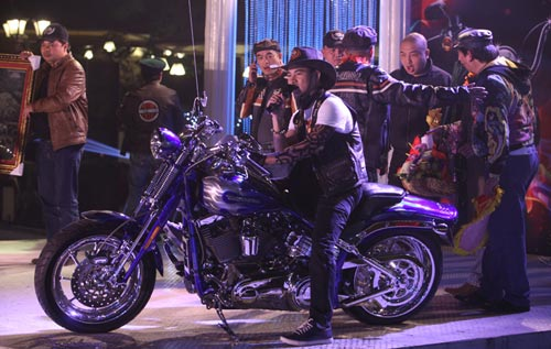 Dàn siêu xe Harley 'xoắn' ga vang trời - 9
