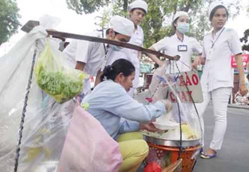 Thức ăn đường phố sạch: Chẳng ai làm - 1