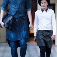 Váy cho nam giới - Xu hướng Xuân Hè 2013