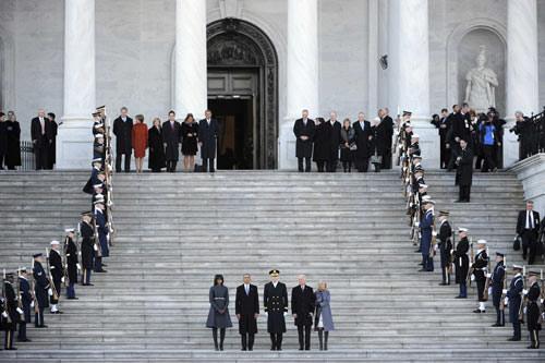 Toàn cảnh lễ nhậm chức của Obama qua ảnh - 10
